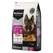 Black Hawk Dog Adult Lamb & Rice 20kg