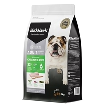 Black Hawk Dog Adult Chicken & Rice 3kg