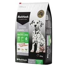 Black Hawk Puppy Chicken & Rice 20kg