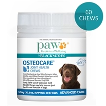 Paw by Blackmores Osteocare Chews 300G