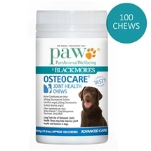 Paw by Blackmores Osteocare Chews 500G