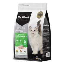 Black Hawk Kitten Chicken & Rice 3kg