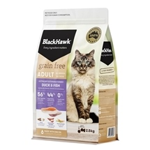 Black Hawk Feline Grain Free Duck & Fish 2.5kg