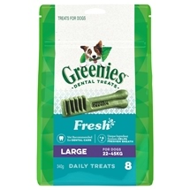 Greenies Freshmint Treat Pack Large 340g