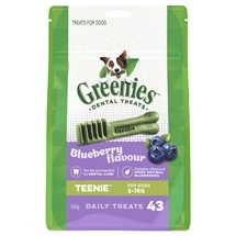 Greenies Blueberry Treat Pack Teenie 340g