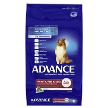 Advance Dog Mature (Senior) All Breeds Chicken 15Kg