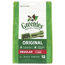 Greenies Treat Pack Regular 340G