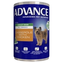Advance Dog Adult Chicken Casserole 400Gx12