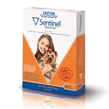 Sentinel Spectrum Dog Up To 4Kg Brown 6 Pack
