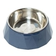 Faceted Melamine Dog Bowl 700ml_DGMBL_0