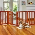 Free-Standing Pet Gate with Door_HD1147_0