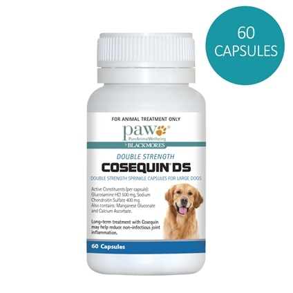 Paw by Blackmores Cosequin Dog Joint Health 60 Capsules