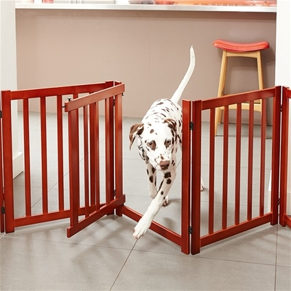 ... Free Standing Pet Gate With Door_HD1147_1 ...