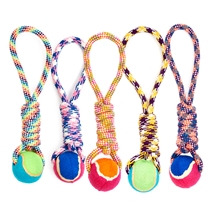 Dog Rope & Ball Toy