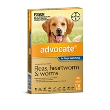 Advocate Dog over 25kg Grey 6 Pack