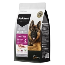 Black Hawk Dog Adult Lamb & Rice 3kg