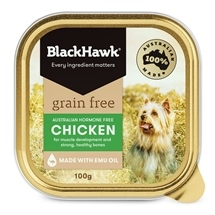 Black Hawk Adult Grain Free Chicken Canned 100g x 12