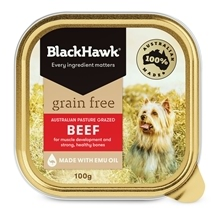 Black Hawk Adult Grain Free Beef Canned 100g x 12