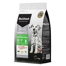 Black Hawk Puppy Chicken & Rice 3kg