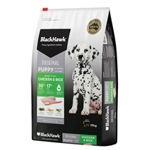 Black Hawk Puppy Chicken & Rice 10kg