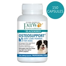 Paw by Blackmores Osteosupport for Dogs 150 Capsules