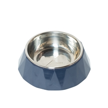 Faceted Melamine Cat Bowl 190ml