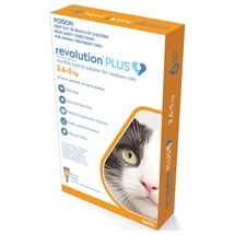 Revolution Plus Cat 2.5-5KG 6 Pack
