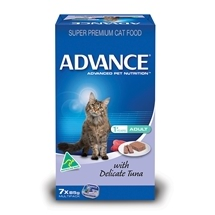 Advance Cat Adult Delicate Tuna (7x85g) x 6
