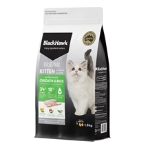 Black Hawk Kitten Chicken & Rice 1.5kg