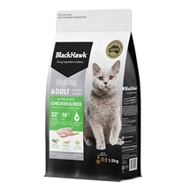 Black Hawk Feline Chicken & Rice 1.5kg New Formula