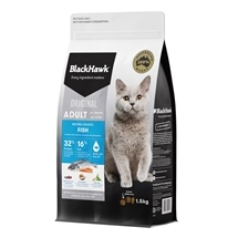 Black Hawk Feline Fish 1.5kg New Formula