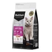 Black Hawk Feline Lamb & Rice 1.5kg