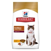 Hills Science Diet Feline Adult Hairball Control 4Kg
