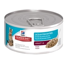 Hills Science Diet Feline Adult Seafood 156g x 24