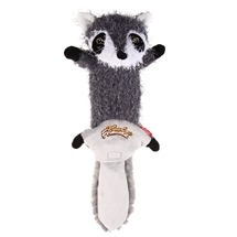 Plush Raccoon Skin with Squeakers