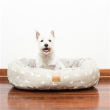 Reversible All Seasons Circular Dog Bed
