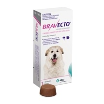 Bravecto Very Large Dog Purple 40-56kg 1pk
