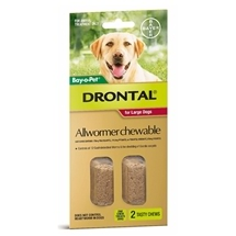 Drontal Dog Chewable 2 Pack 35kg