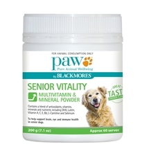 Paw by Blackmores Senior Vitality 200g