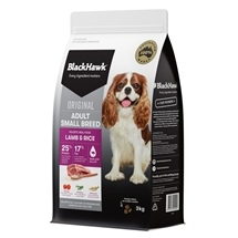 Black Hawk Dog Small Breed Lamb & Rice 3kg