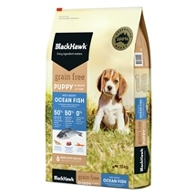 Black Hawk Puppy Grain Free Ocean Fish 15kg