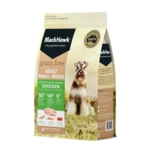 Black Hawk Dog Small Breed Grain Free Chicken 2.5kg