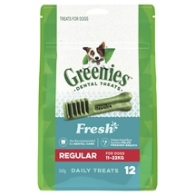Greenies Freshmint Treat Pack Regular 340g