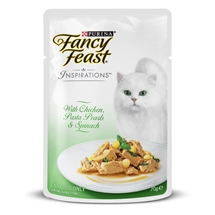 Fancy Feast Inspirations Chicken, Pasta & Spinach 70g x 12