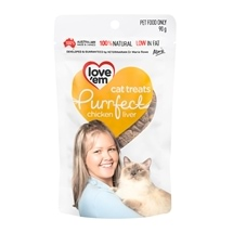 Love Em Purrfect Cat Treats 90g - Chicken