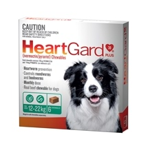 HeartGard Plus for Dogs 12-22kg Green - 6 Pack