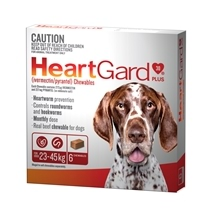 HeartGard Plus for Dogs 23-45kg Brown - 6 Pack