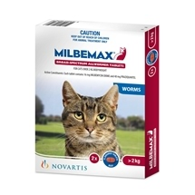 Milbemax All Wormer for Cats Over 2kg 2 Pack