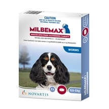 Milbemax All Wormer for Dogs 0.5-5kg 2 Pack