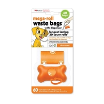 Pet Waste Bags 60pcs with Dispenser
